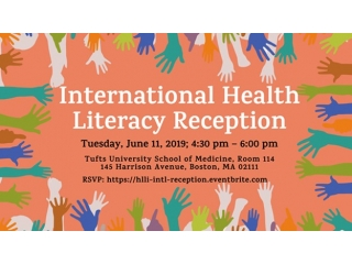 2019 HLLI and international health literacy reception