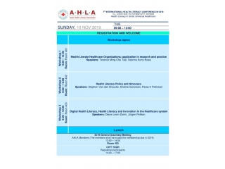 Workshop Registration: 7AHLA
