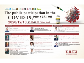 10th December, 2020-The public participation in the COVID-19, one year on